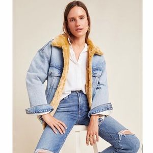 NWT Levi's Anthropologie Sherpa Jacket